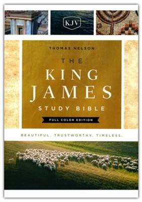KJV Study Bible Full-Color Edition, Hardcover