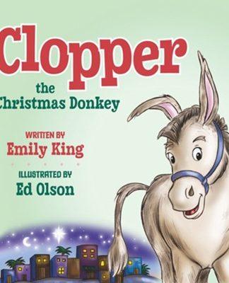 Clopper the Christmas Donkey