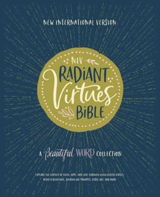 NIV Radiant Virtues Bible: A Beautiful Word Collection, Hardcover Bible and Journal Gift Set