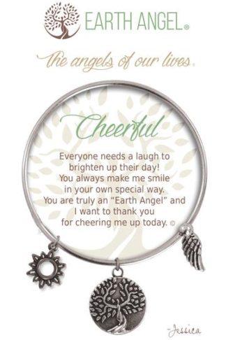 "Earth Angels Charm Bracelet ""Cheerful"""