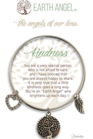 "Earth Angel Charm Bracelet ""Kindness"""