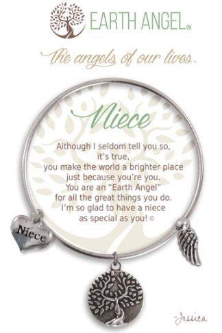 "Earth Angel Charm Bracelet ""Niece"""