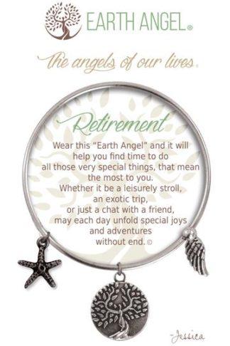 "Earth Angels Charm Bracelet ""Retirement"""